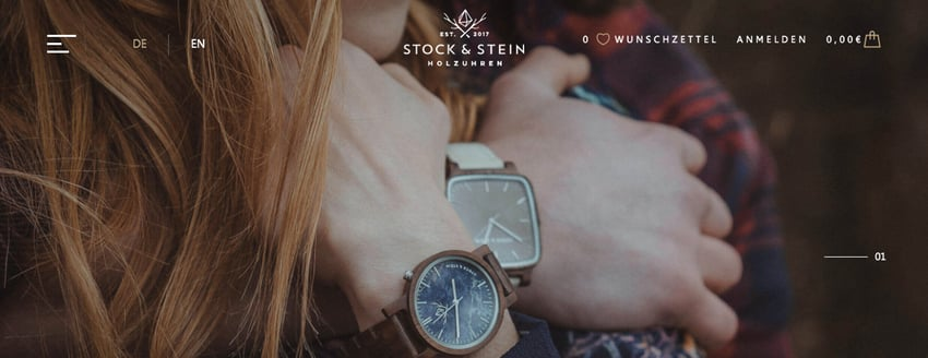 Stock & Stein Website (Sreenshot)