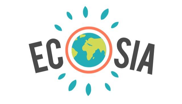 Logo der Suchmaschine Ecosia