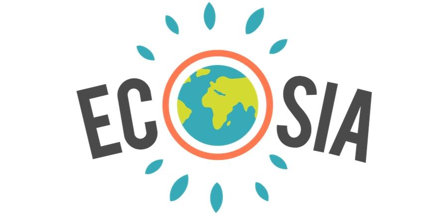 Ecosia Logo, Suchmaschine