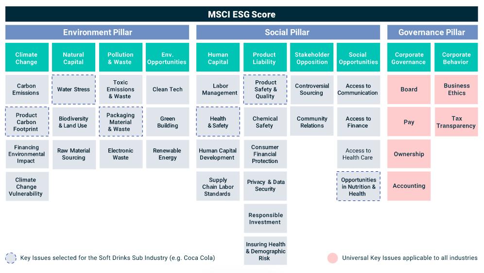 MSCI ESG Score